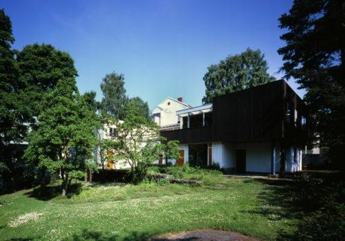 Alvar Aallon kotitalo & Aino Aallon puutarha