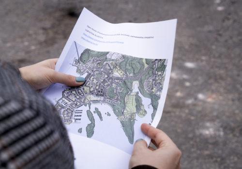 Arkkitehtuurisuunnistus / Architectural orienteering